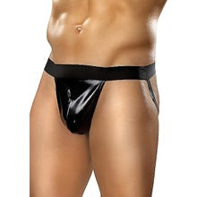 Male Power Moonshine Jock wetlook schwarz