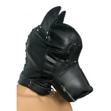 STRICT - Ultimate Leather Dog Hood - Premium Ledermaske