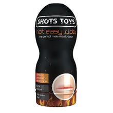SHOTS TOYS - Portable Masturbator Hot Easy Rider Mouth