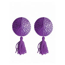 Ouch Nipple Tassels Round Purple SUPERSALE
