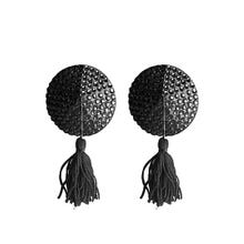 Ouch Nipple Tassels Round Black