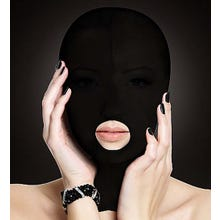OUCH Submission Mask - Mund offen - black