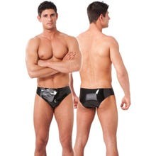Rimba Herren - Latex Brief mit Plug