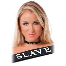 Rimba - Halsband (Slave) black