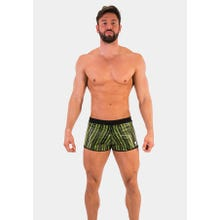 Barcode Short Monty black-neongreen|SUPERSALE