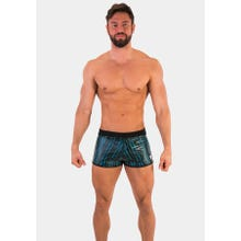 Barcode Short Monty black-neonblue|SUPERSALE