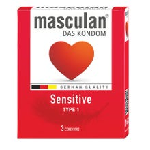 Masculan Kondome Typ1 - sensitive 3 Stk.
