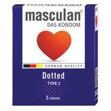 Masculan Kondome Typ2 - genoppt 3 Stk.