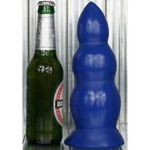 23 x 5 - 8 cm FAT TONY Plug / Dildo OPENER blue