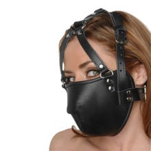STRICT - Leather Face Harness