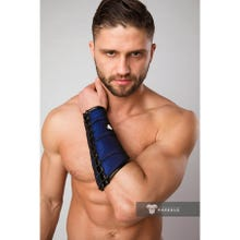 MASKULO - Armored Color Under Forearm Guard Wallet - Royal Blue/Black