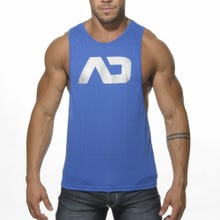 ADDICTED AD043 Low Rider Tank Top royal blue | SUPERSALE