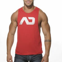 ADDICTED AD043 Low Rider Tank Top red