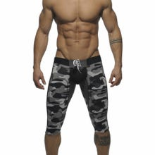 ADDICTED AD236 Fetish Knee Lenght Pant Back Opening camouflage