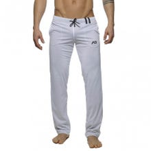 ADDICTED AD356 Loop-Mesh Pant white