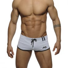 ADDICTED SPORTSWEAR AD358 Loop Mesh Short white