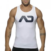 ADDICTED AD457 Basic Tank Top white