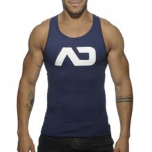 ADDICTED AD457 Basic Tank Top navy