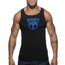 ADDICTED AD603 WOOF Tank Top black | SUPERSALE