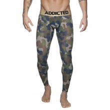 ADDICTED AD695 Bottomless Camo Long John camouflage