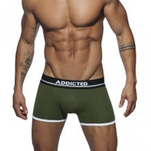 ADDICTED AD729 Curve Boxer kaki