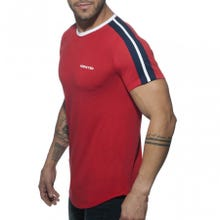 ADDICTED AD778 Ranglan Addicted T-Shirt red