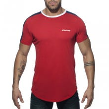 ADDICTED AD778 Ranglan Addicted T-Shirt red Gr.XXL | SUPERSALE