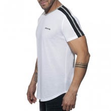 ADDICTED AD778 Ranglan Addicted T-Shirt white