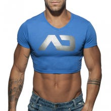 ADDICTED AD819 Crop AD Top royal blue