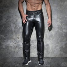 ADDICTED ADF101 Fetish Long Pant black