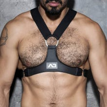ADDICTED ADF23 Ring Details Harness black