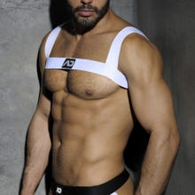 ADDICTED ADF37 Harness white