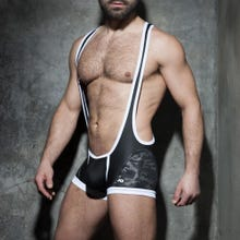 ADDICTED ADF82 Camo Mesh Singlet camo/white