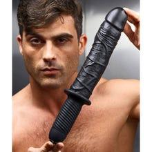 36 x 5 cm Master Series - The Violator XL Dildo Thruster black