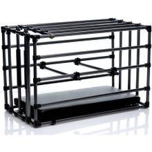 Master Series - Adjustable Bondage Kennel Cage black