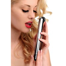 21,5 x 3,6 cm Master Series - Thunder Bullet XL Ultra Powered Rechargeable Bullet silver