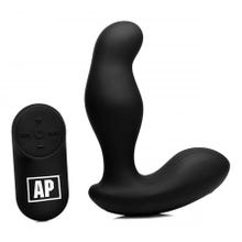 12,5 x 3,5 cm Alpha Pro P-Gyro rotierender Prostata-Vibrator black - Akku Power