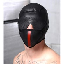 Master Series - Scorpion Hood with Removable Blindfold and Mask black
