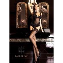 Ballerina Art. 262 Halterlose Strümpfe 20den schwarz