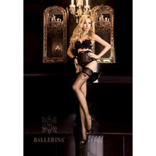 Ballerina Art. 261 Halterlose Strümpfe 20den schwarz