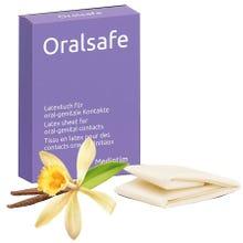 MEDintim ORALsafe Latex-Tücher Vanille 8Stk. Lecktücher