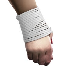 OUCH Silicone Rope white 5 m SUPERSALE