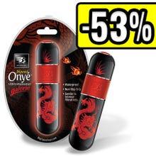 11,4 x 3,2 cm B3 Onye Galerie Dragon Vibrator schwarz/rot SUPERSALE