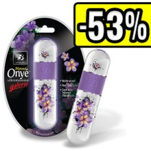 11,4 x 3,2 cm B3 Onye Galerie Floral Vibrator weiss/lila SUPERSALE
