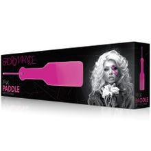 BAD ROMANCE - Pink Paddle With Stitching - SUPERSALE