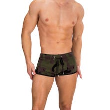 Barcode Short Naked Warrior camouflage|SUPERSALE
