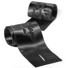 bijoux indiscrets Silky Sensual Handschellen black