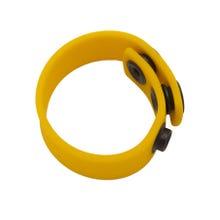 BONEYARD - Silicone Cock Strap yellow