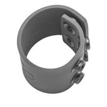 BONEYARD - Silicone Ball Strap grey