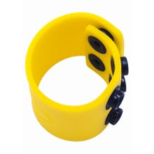 BONEYARD - Silicone Ball Strap yellow